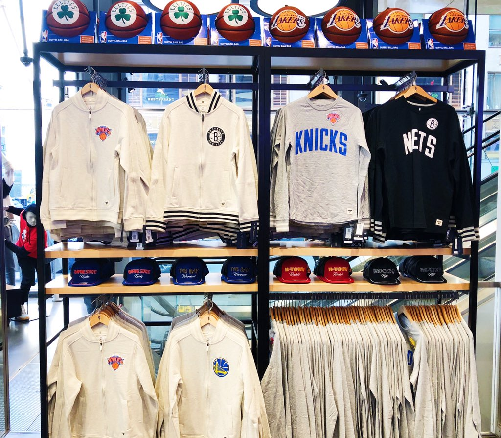 👉 *NEW* items just arrived on the Main Floor @NBASTORE NYC