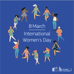 Image for the Tweet beginning: Today is #InternationalWomensDay! We celebrate a