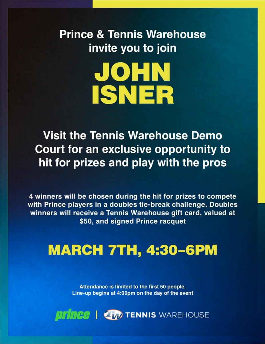 John Isner @JohnIsner