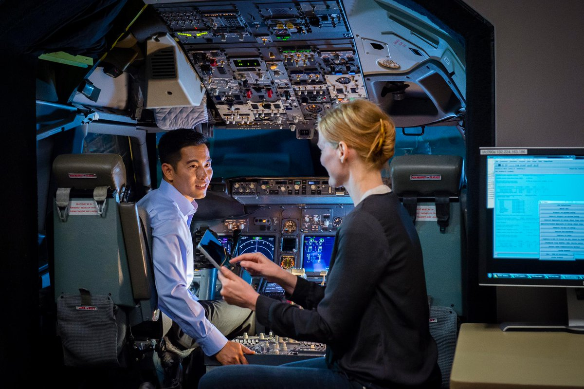 We are cleared for takeoff! #Boeing donates $3 million to fund pilot training and aviation maintenance programs @EmbryRiddle. Learn more: http://bit.ly/2SPUmQi