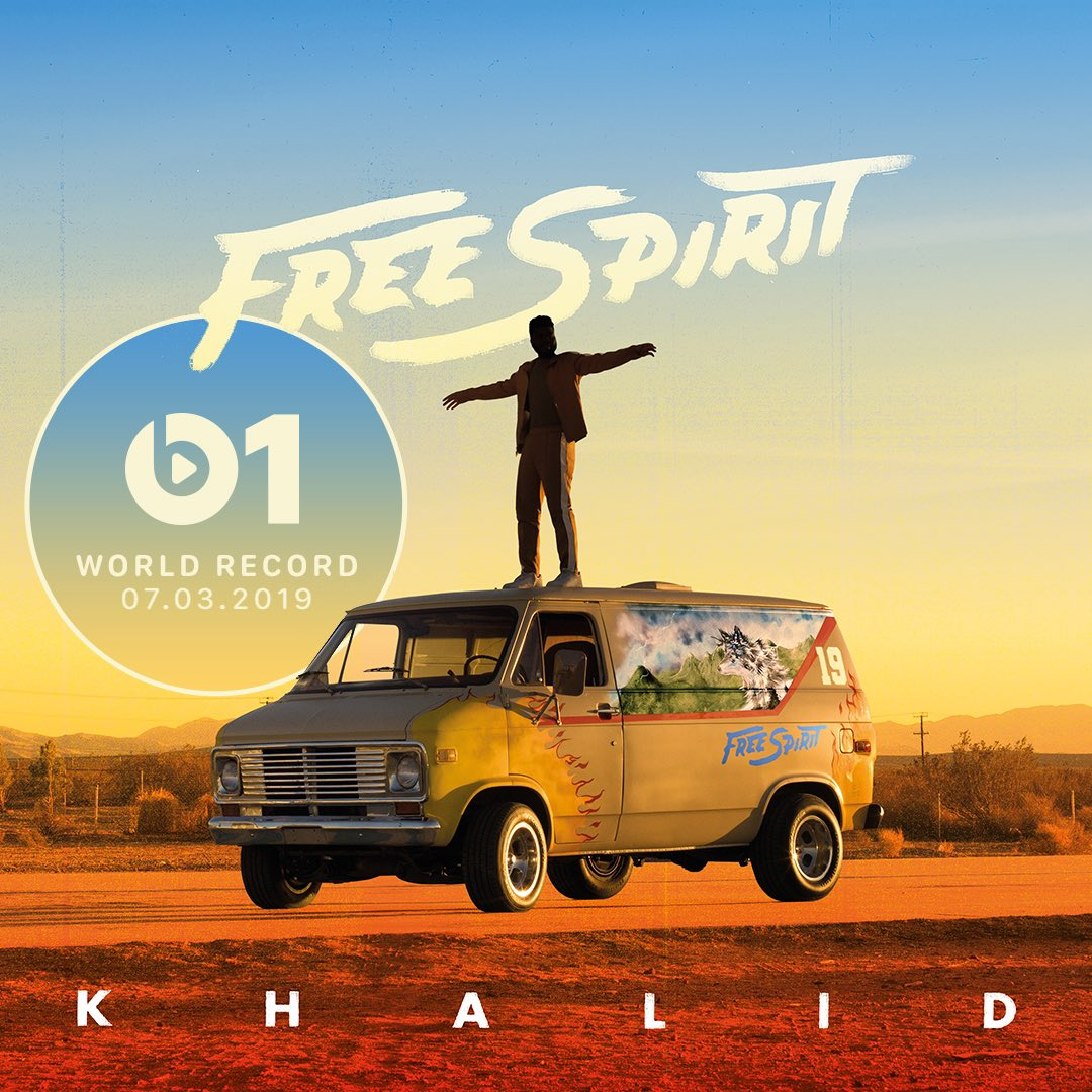 Another one today! New #WorldRecord from @thegreatkhalid 'My Bad' 👉🏼📲 LISTEN apple.co/_MyBad