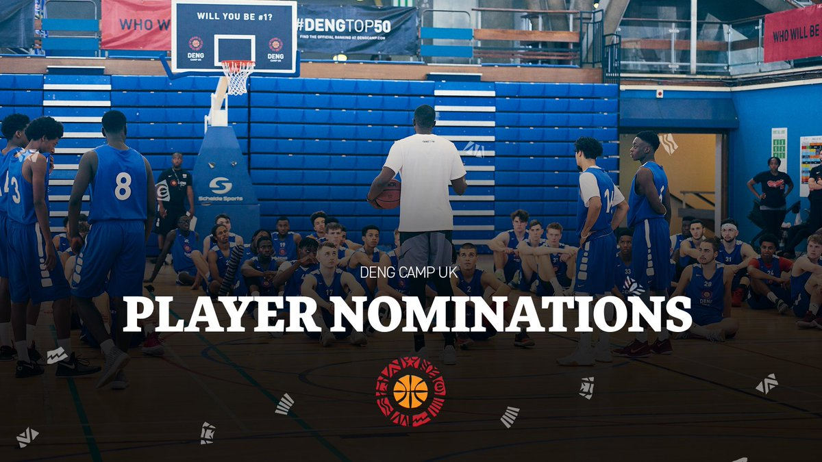 Online player nominations now open for #DengTop50 taking place from 21-24 August in London, UK.  Player Eligibility: 🎓 Class of 2020 & 2021 📍 Play in UK or UK Passport holder 🏀 Don't obtain current 🇺🇸 scholarship  ➡️ https://t.co/tmDLXcwJva https://t.co/4ZmznnuGoa