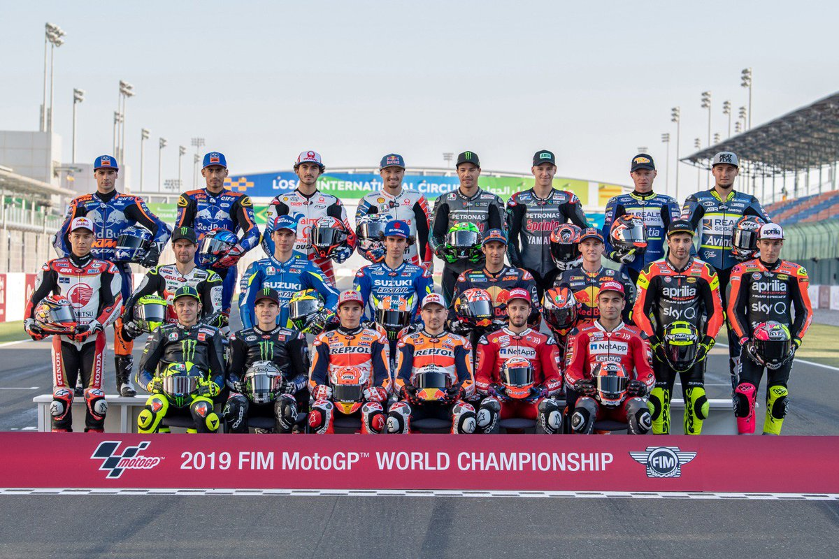 Pebalap MotoGP 2019