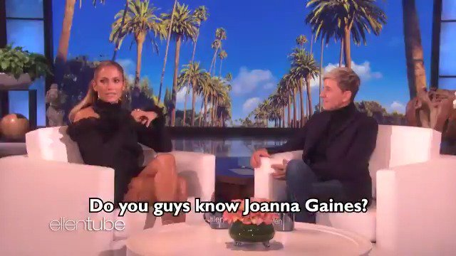.@JLo told me about how @ARod surprised her with @JoannaGaines. https://t.co/cG3tyEux8W