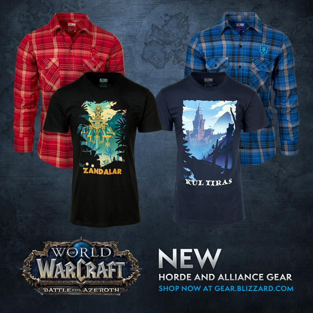 AWDIP Ufficiale World of Warcraft for The Horde T-Shirt