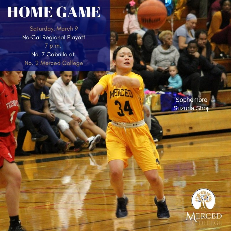 The first couple hundred people in attendance at Don Reid Court on Saturday night will get a commemorative rally towel. Cheer the MC women's basketball team to victory in their final home game of the season. The ball tips at 7 p.m. #rallytowel #norcalregionals #devilofatime