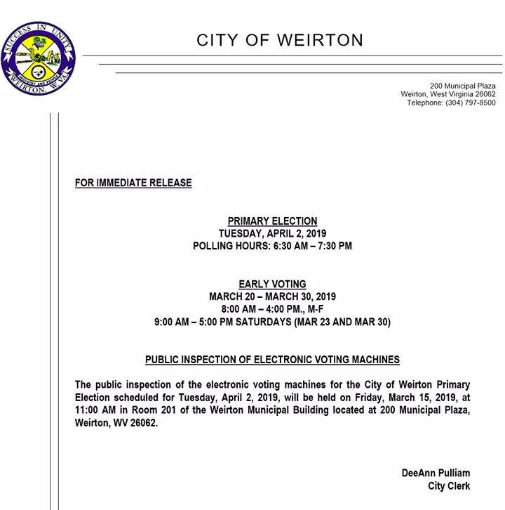 Weirton, WV - @WeirtonCityGov Twitter Profile and Downloader