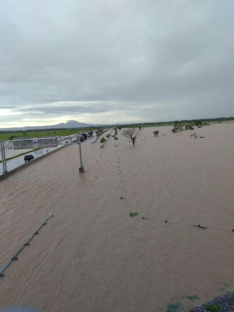 Kabupaten Madiun, Jawa Timur terendam banjir