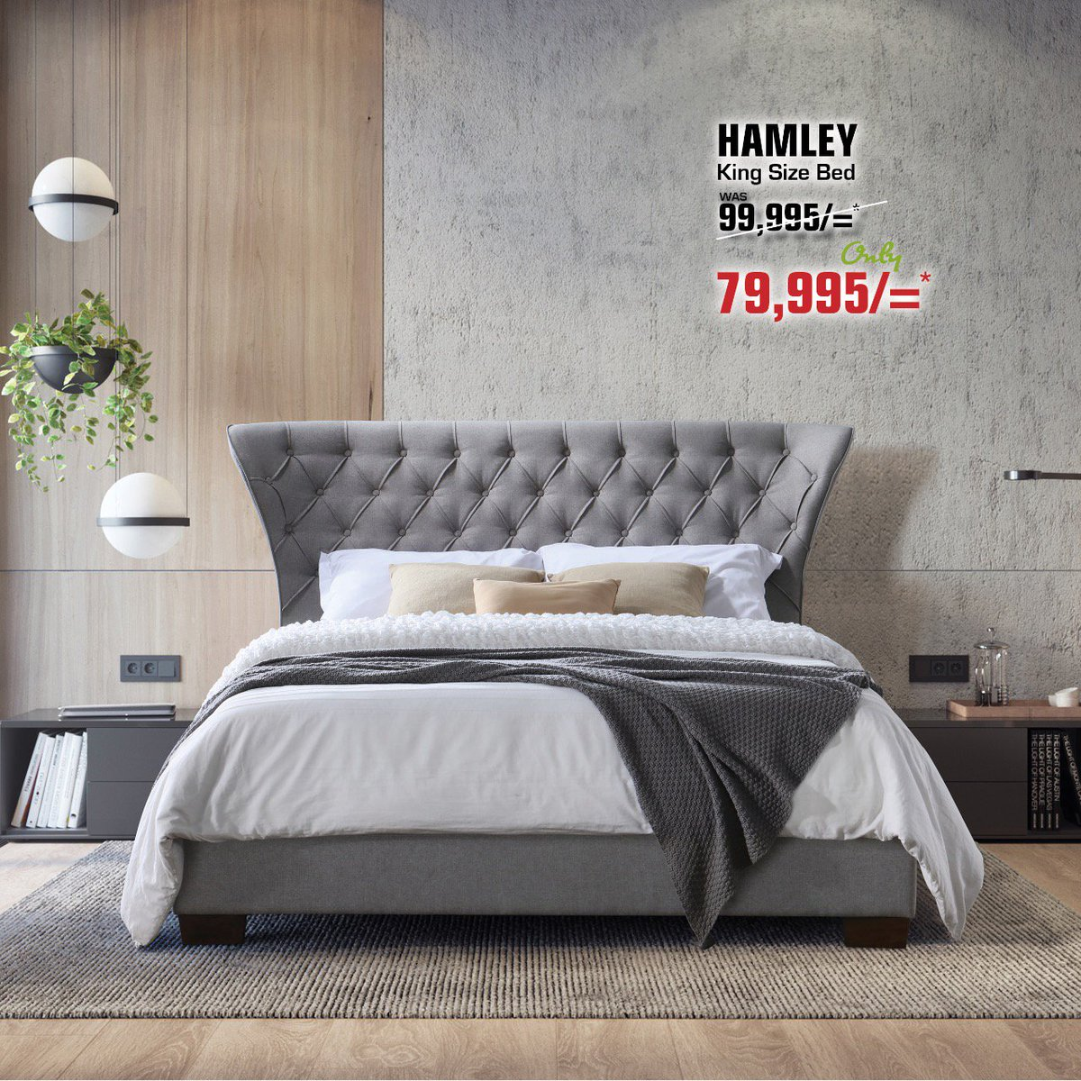Picture of: Furniture Palace Ltd On Twitter Hamley Now Available Dont Miss Out A Chance On This Gorgeous Fabric Upholstered Bed Nairobi Mombasa Kisumu Eldoret Furniturepalace Bedsinkenya Bedroomsinkenya Https T Co Nqaxxmleyh
