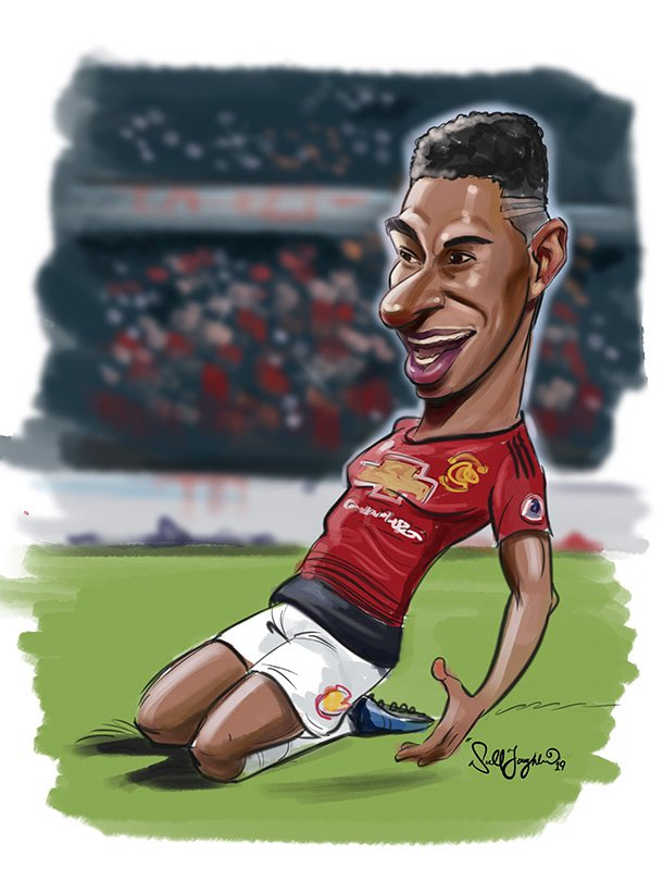 Niall O Loughlin On Twitter He S Actually Allot Harder To Draw Than He Looks But Couldn T Finish The Day Without Drawing The Brilliant Marcus Rashford Marcusrashford Manchesterunited Marcusrashford Irelandsbestcaricatureartist Manutd Psgvsmanu