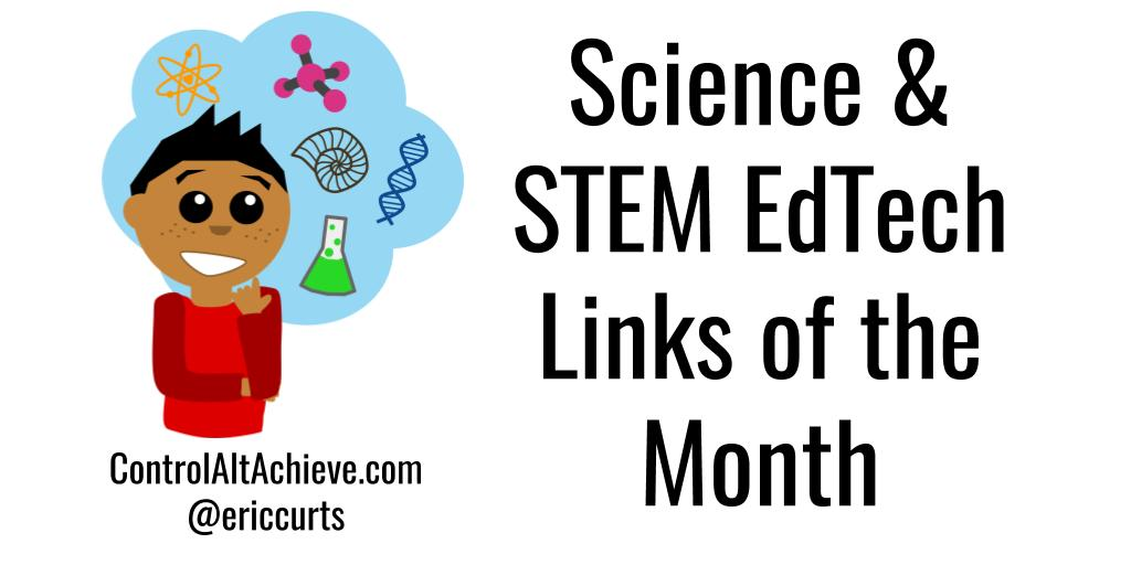 100's of the best Science EdTech links curated each month controlaltachieve.com/p/science-link… #scichat #edtech