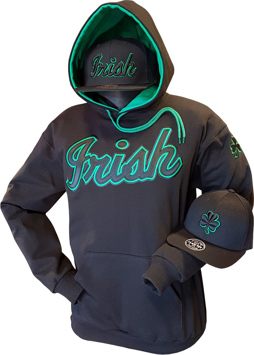 0cecf108246 It s in the store and online now. Gear up for  StPatricksDay with a top   quality Hoodie.  IrishHoodie  blackirish We Have  irishsnapbacks and   irishflexfit ...