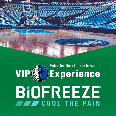 Don't miss out on a chance to win a VIP Experience through the @Biofreeze VIP Experience Sweepstakes! Visit http://www.mavs.com/sponsorpromotions/biofreeze/… to enter the sweepstakes.  #Mavs #Biofreeze
