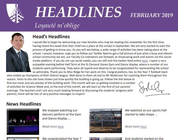 For all last month's news - including an amusing story involving Mr Thompson, the permanent site and a large quantity of mud, why not read Headlines? Available to download here: https://t.co/6zJLcq93E6 https://t.co/P9zXAP0x4j