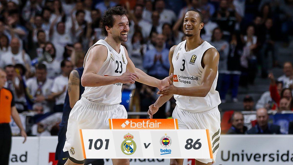 Real Madrid Basket's photo on randolph
