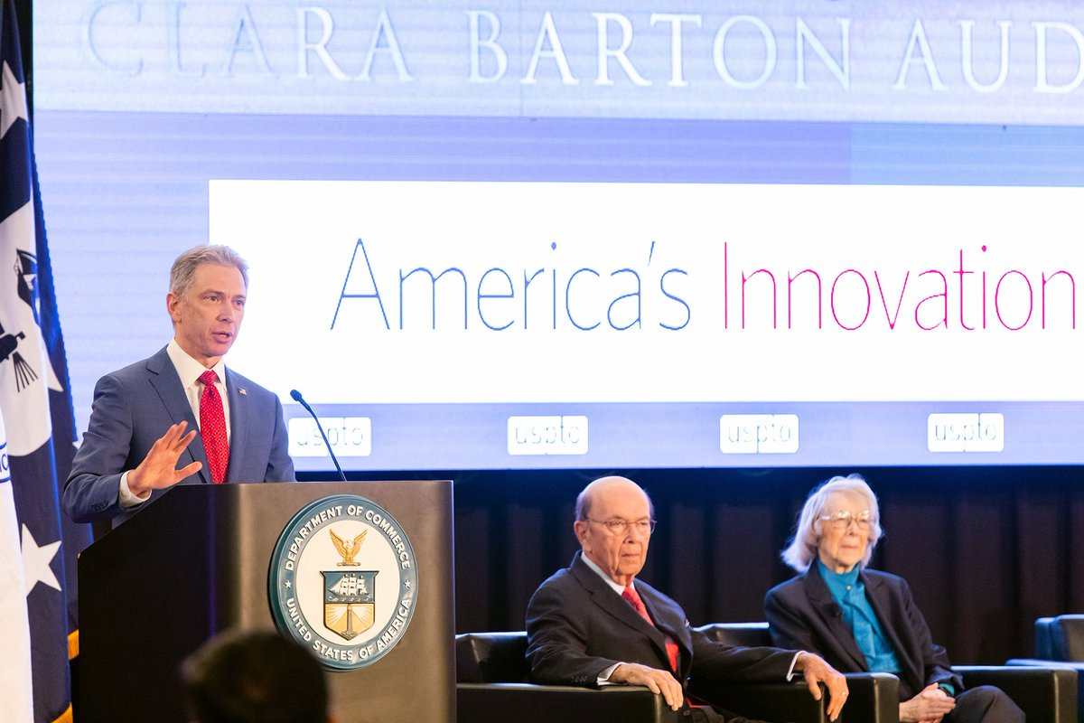 #YearInReview: We're taking a look back at our top moment and top tweets of 2019. Our main auditorium was renamed in honor of the first woman clerk at the Patent Office, Clara Barton.