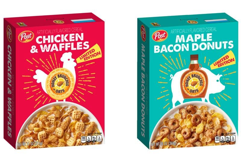 Honey Bunches of Oats Cereal Introduces New Chicken and Waffles Flavor   Available at Walmarts, Giant Eagle, Woodmans and Riesbecks
