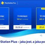 Image for the Tweet beginning: Usługa PlayStation Plus – jaka