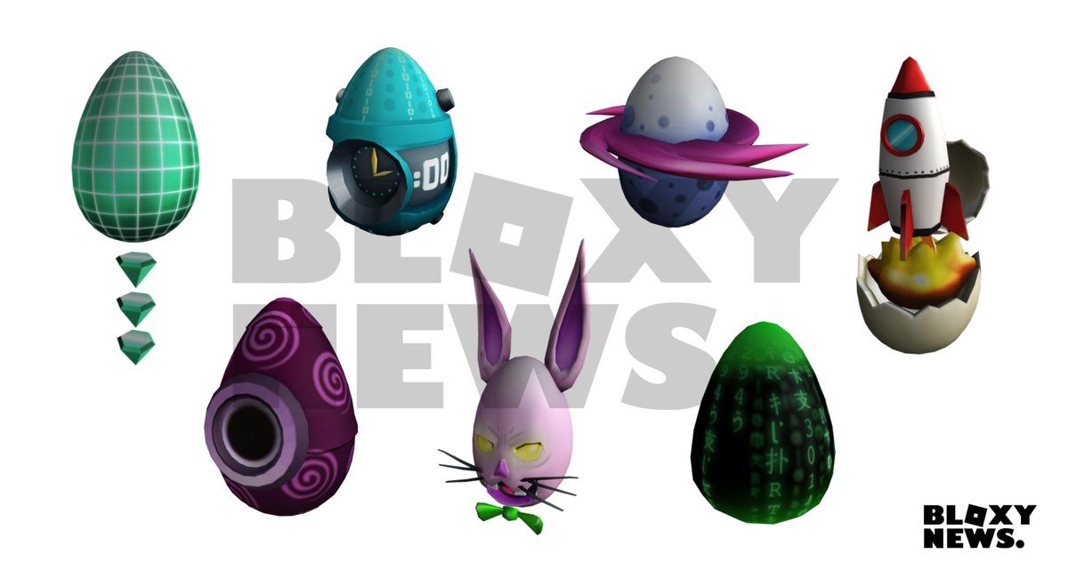 Eggs Being Leaked Egg Hunt 2019 Leaks Roblox - Bloxy News En Twitter Bloxynews The First 7 Eggs Of