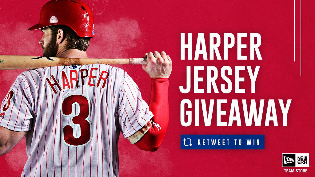 RETWEET for a chance to win a Bryce Harper jersey 9f19fb4df