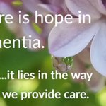 Whenever I am with someone experiencing #dementia, I assume the role of mood creator. I make sure that I am not radiating sadness, concern, or amazement at their impairments. For both of us, I am looking for something beautiful, funny, or heartwarming to enjoy.