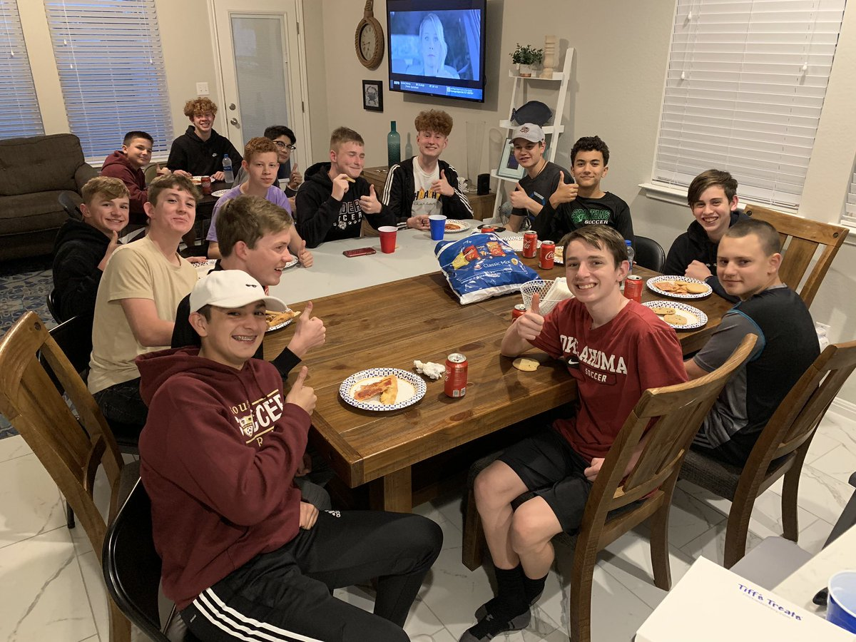 Boys JV Team Dinner, Brooklyn Heights and Tiff's Treats! Glad to have them over! @RouseSoccer