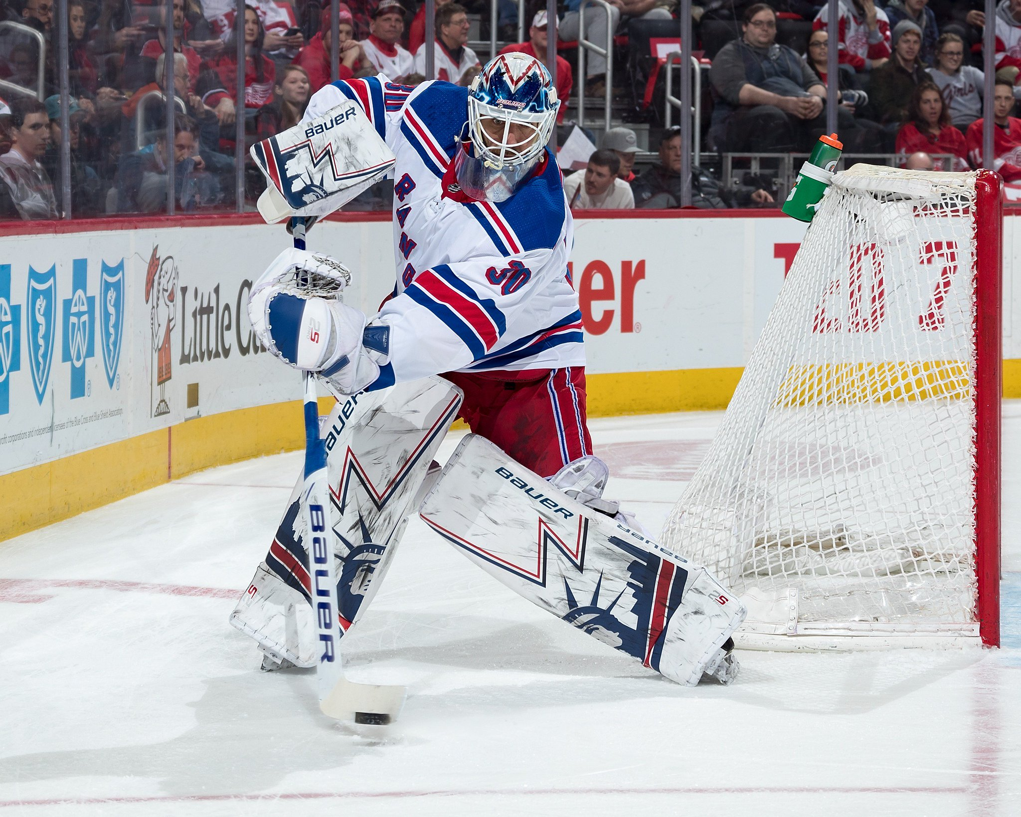 Henrik Lundqvist: Tonight, Henrik Lundqvist becomes just the 3rd goalie in @NHL history to appear in at l...