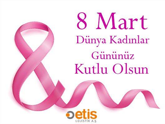 Tüm kadınlarımızın 8 Mart Dünya Kadınlar Günü'nü kutlarız. https://t.co/zAptdPYGPW