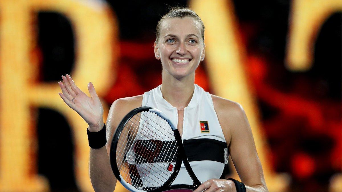 Huge inspiration. Happy birthday to you, @Petra_Kvitova 🎂 #AusOpen