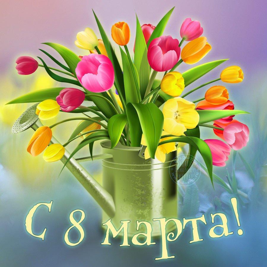 Картинки к 8 марта с тюльпанами, февраля