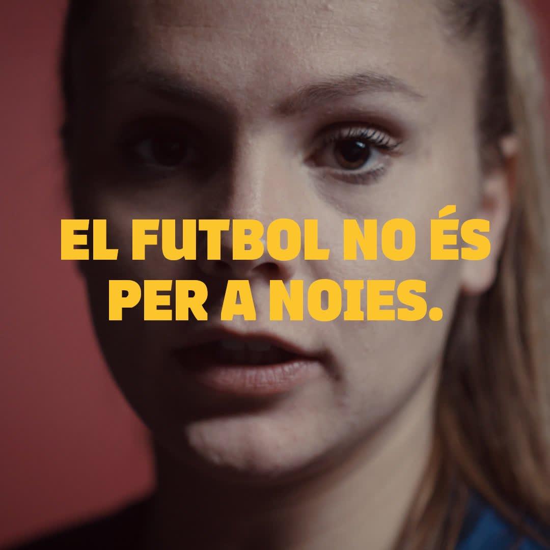 #WeAreFootballers El futbol és per a futbolistes 🔵🔴