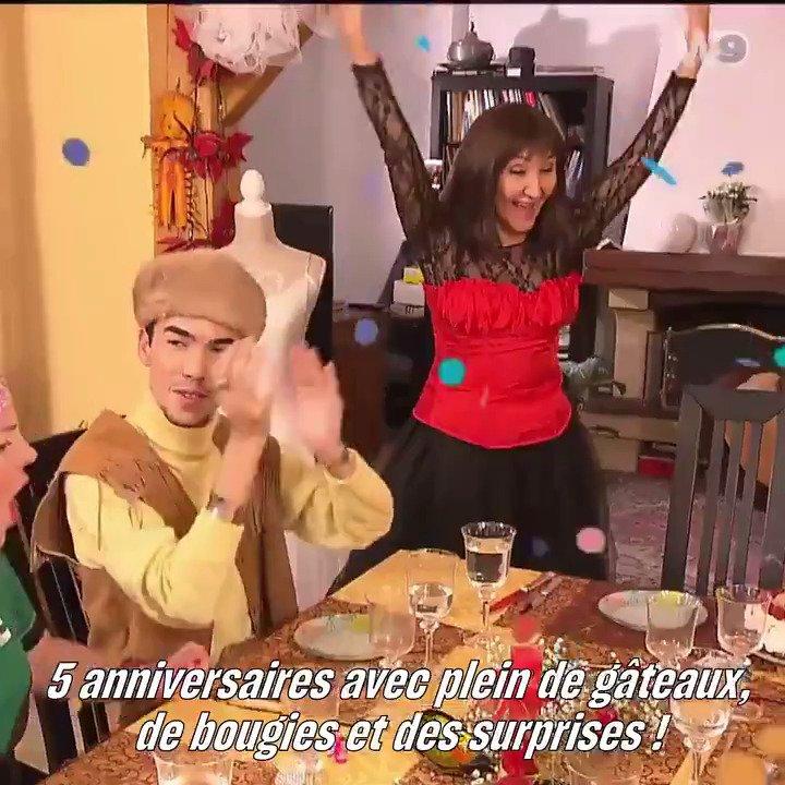 🎂 INEDIT 🎂 Cette semaine, Un dîner presque parfait s'installe à Paris pour une semaine spéciale anniversaire ! Objectif : réaliser le meilleur dîner d'anniversaire ! La suite demain à partir de 17:50 #UDPP