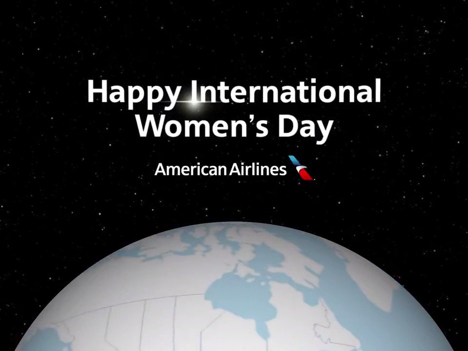 """Your wings already exist. All you have to do is fly."" — Unknown  Celebrating #InternationalWomensDay with our #AATeam from all over the 🌎!"