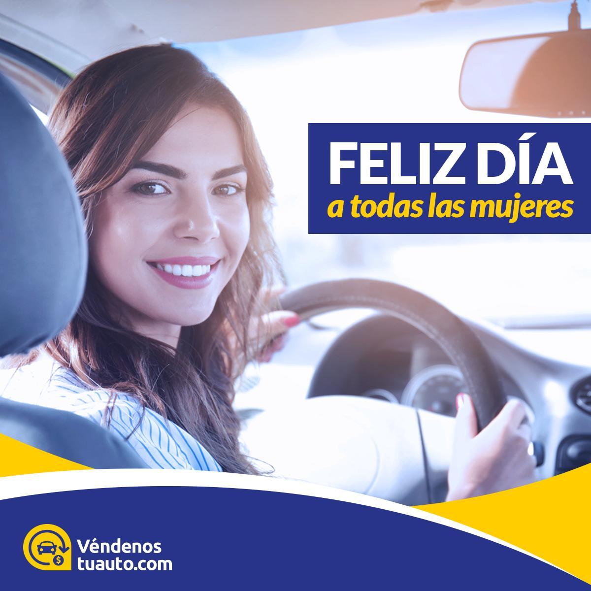 ¡Feliz día de la mujer! 👩 🌹 El equipo de #Véndenostuauto quiere felicitar a todas las mujeres en su día. #Autos #Chile #DiaMujer #Mujer #FelizDia https://t.co/K4IxYXxxuI