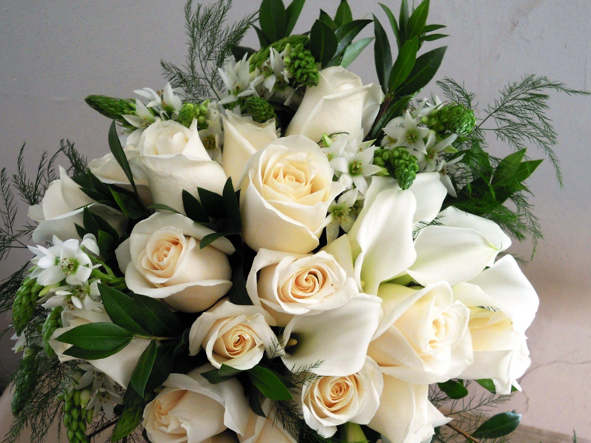 Поздравления с днем рождения белыми розами в картинках