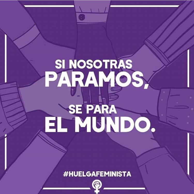 Con ellas... siempre💪🏽💜 #8marzo #sinosotrasparamosseparaelmundo #8march #mujeresycine #mujeresvalientes #rcservicemadrid @CIMAcineastas @mujeres_decine @FCinepormujeres @donesicinema @DirectorasDfoto @acciondirectorx @Cineastas_UNIR https://t.co/jaPWLphezk