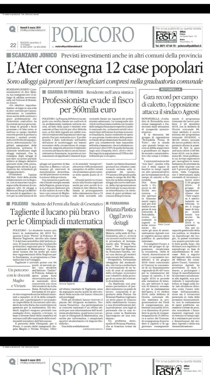 RT @PD_Rotondella: #Rotondella via @quotidianoweb ...
