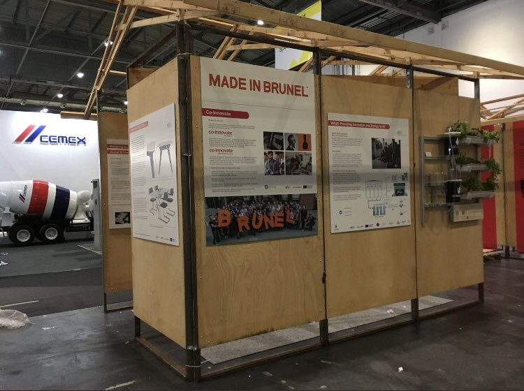 So proud to be a student at @Bruneluni. I got to see brilliant work from other students showcased in @FuturebuildNow with the support of @CoInnovate_Bru  ...AMAZIIING #designcanchangetheworld <br>http://pic.twitter.com/s5ewthCHxz