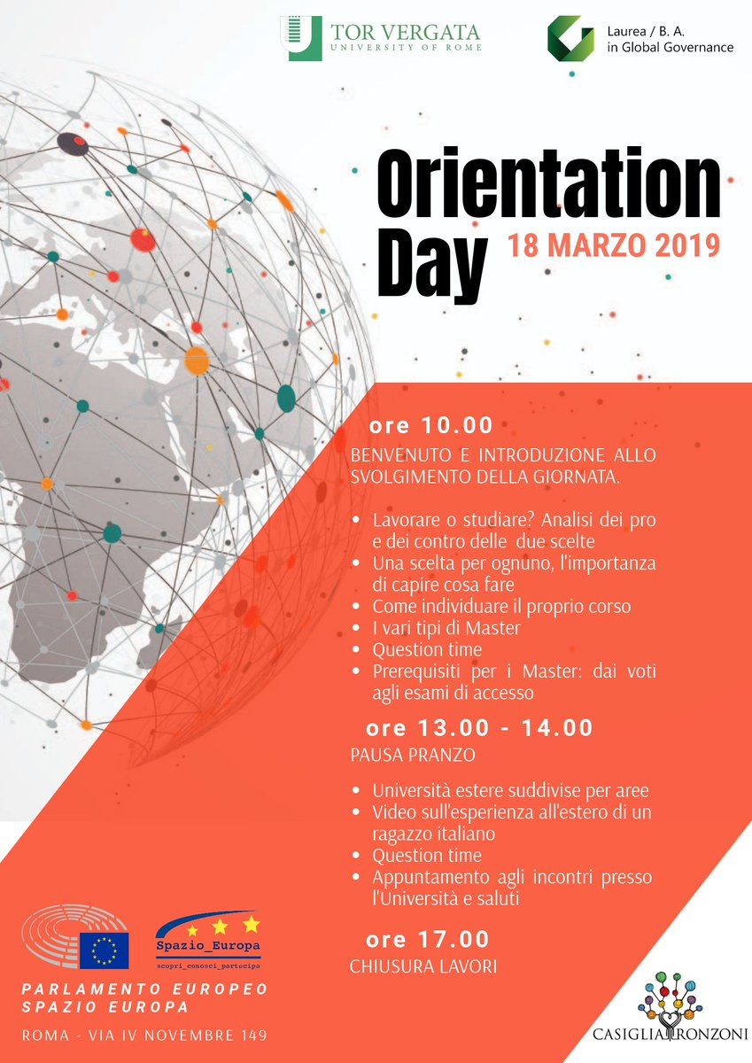 """Cosa Fare A Pranzo global governance ba on twitter: """"#today, starting from 10"""