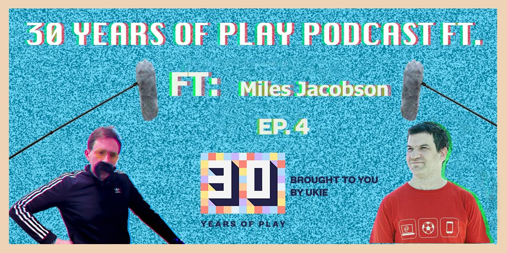 We caught up with @SI_games' @milesSI to talk all things Football Manager for #30yearsofplay's 4th podcast! Listen to it here: https://bit.ly/2EbBNRo  ⚽️⚽️ @GeorgeOsborn