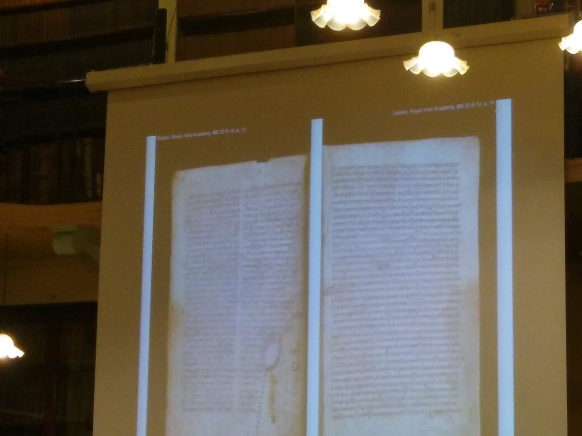test Twitter Media - RT @Naoicea: A rip in the vellum helped @ChantalKobel to determine the original quire structure of #23N10 https://t.co/9F3u8SRdqO
