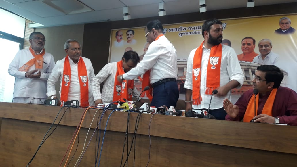Joining BJP to strengthen the hands of Narendrabhai and to serve my constituency people even more effectively: Jawahar Chavda