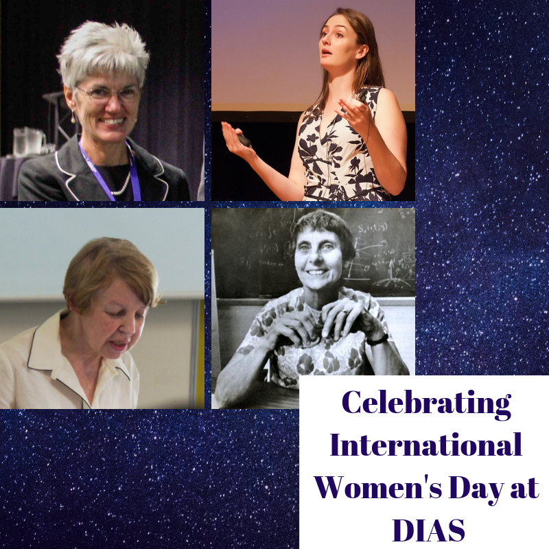 test Twitter Media - To mark #IWD2019 we're profiling some of the fantastic women that have passed through the doors of DIAS- one from each of our 4 schools. Read more about the great: Máire Herbert,Anna Scaife,Carmel Lowe & the late Cecile DeWitte-Morette here. #DIASdiscovers https://t.co/pkAngJdpyU https://t.co/xE6Yd8XbR7