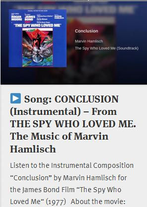 the spy who loved me opening song