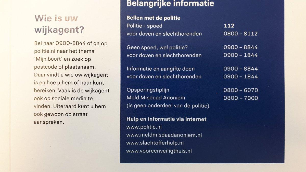 Geen Nood Wel Politie.Media Tweets By Politie Overbosch Poloverbosch Twitter