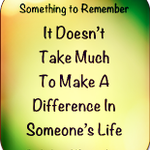 It doesn't take much to make a difference in someone's life :) https://t.co/aEvUGnUGfr