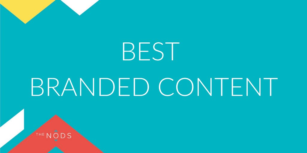 First up is Best Branded Content and the shortlist is...  🌟 @BrightSignals  🌟 @freak_films  🌟 @nexus_24  🌟 @TweetPUNKs  🌟 @unionagency  🌟 @whitespacers