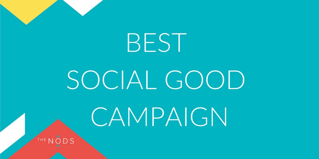 Now let's meet our shortlist for those who are making a difference with their social good campaigns...  🌟 @BrightSignals  🌟 @TheLeith & @weareeyebolls  🌟 @s0methingsays  🌟 @STVCreative  🌟 @whitespacers  🌟 @WeAreWire