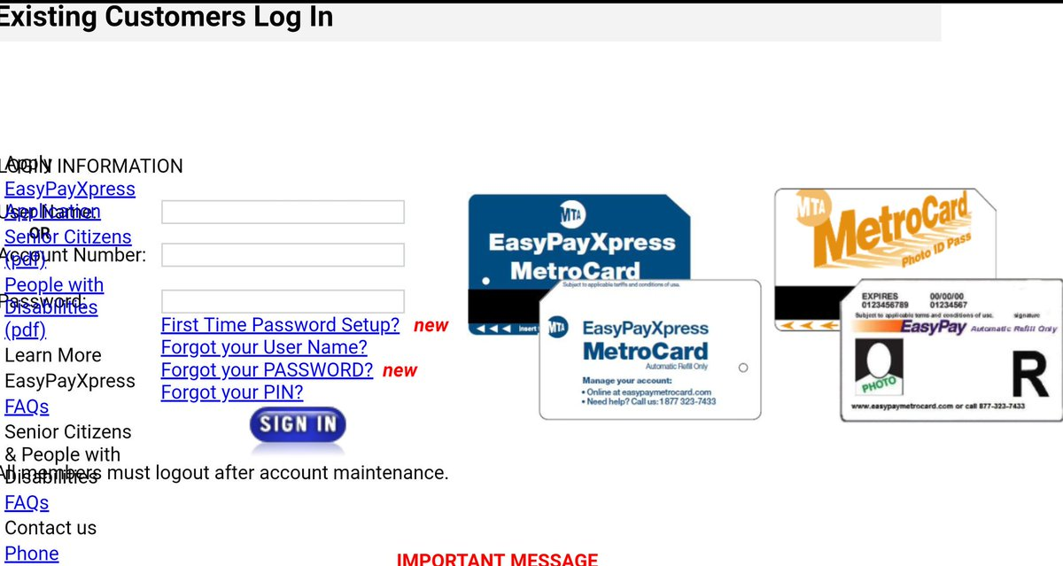 Easypaymetrocard Hashtag On Twitter