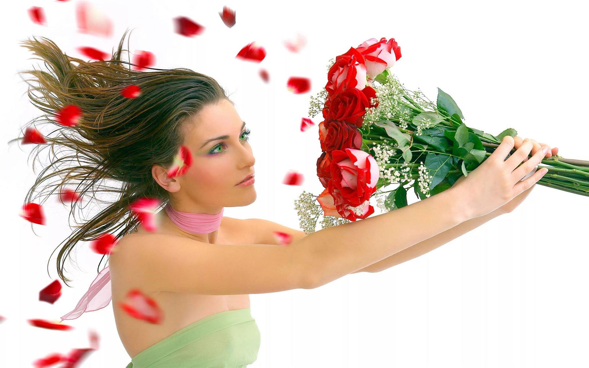 Красивые картинки женщин с надписью, открытки признанием любви